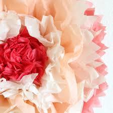 15 diy tutorials make creative giant tissue paper flowers