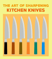 the art of sharpening kitchen knives a beginner u0027s guide
