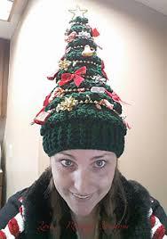 christmas tree hat ravelry merriest christmas tree hat pattern by katieanne