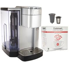 espresso maker how it works cuisinart ss10 single serve coffee maker w barista cup u0026 18 coffee