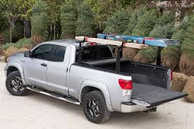 nissan frontier crew cab long bed 2005 2016 nissan frontier hard folding tonneau cover rack combo