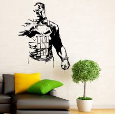 wall decals cool character wall decals disney character wall full image for fun activities character wall decals 136 bible character wall stickers aliexpresscom buy punisher