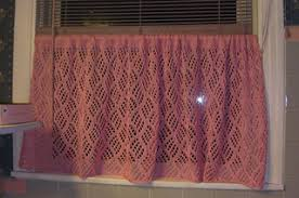 Cafe Curtain Pattern Ravelry Dappled Lace Café Curtain Pattern By Knit Picks Design Team