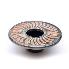 Ikebana Vase Vase Spiral Design