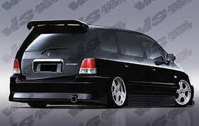 honda odyssey rear bumper honda odyssey rear bumpers kit store ground effects