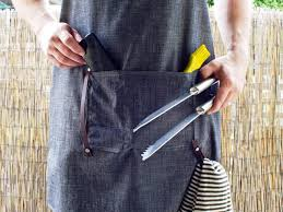 how to make a men u0027s bespoke apron hgtv