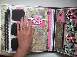 large scrapbook album handmade large not mini 11x11 scrapbook album tutorial on etsy