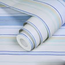 self adhesive wallpaper blue 0 45m 10m pvc self adhesive wallpaper blue stripes living room