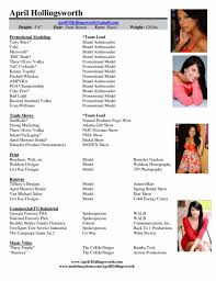 Resume For Promotion Sample by Promotional Model Resume U2013 Resume Examples