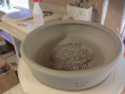 personalized pie plate steve bujno throwing bujno pottery custom pottery stoneware
