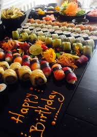 japanese cuisine bar birthday sushi bar menu ideas for your office catering and