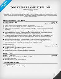 free resume template australia zoo zoo keeper resume exle resume sles across all industries