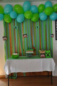 Minecraft Party Centerpieces by Minecraft Birthday Party Ideas Boy Birthday Birthdays And Boys