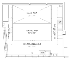 Dance Studio Floor Plan Rental Dixon Place