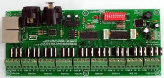 dmx light board controller 27 channel dmx controller decoder for rgb lights 12v dc low as