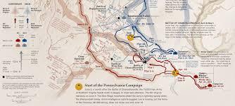 Battle Of Gettysburg Map Atlas Of Design