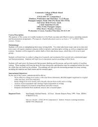 how to write a college level paper ccri faculty web community college of rhode island