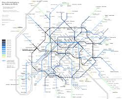 Metro Paris Map by Alexey Goncharov U0027s Transport Maps