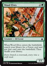 wood elves commander anthology gatherer magic the gathering