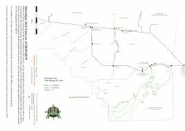Florida Trail Map by Big Cypress Maps Npmaps Com Just Free Maps Period