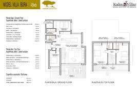 contemporary resort floor plan kudos villas estate agents u2013 spacious contemporary bora villa at