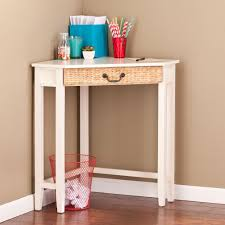 southern enterprises writing desk furniture southern enterprises panama writing desk in white red
