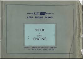 bristol rolls royce viper 8 mk 102 aircraft engine training