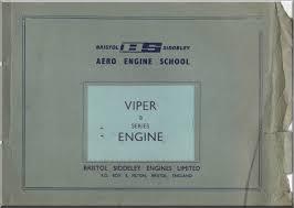 bristol rolls royce viper 8 mk 102 aircraft engine training