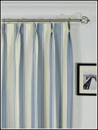 Navy And White Striped Curtains Blue And White Striped Curtains Mirak Info