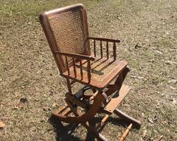 Cane Rocking Chair Cane Rocking Chair Etsy