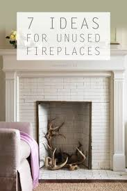 Ways To Decorate A Fireplace Mantel by Best 25 Unused Fireplace Ideas Only On Pinterest White Fire