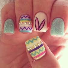 7 best nails images on pinterest easter nail art easter nail