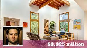 tobey maguire u0027s artsy santa monica compound sells for 330 000
