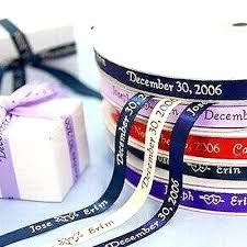 engraved ribbon 3 8 personalized ribbon favor boxes 100pcs efavormart