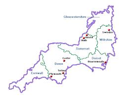 map uk harrogate south west accommodation