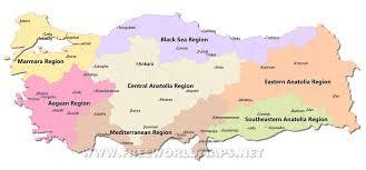 Southeastern Europe Map by Turkey Maps By Freeworldmaps Net