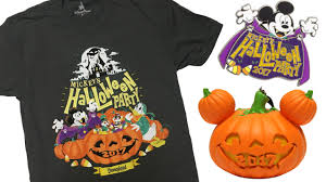 Mickey Mouse Halloween T Shirts by Colorful Commemorative Products Coming To Mickey U0027s Halloween Party