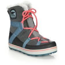 Sorel Tivoli Rugged Canvas Boots Sorel Winter Boots Polyvore