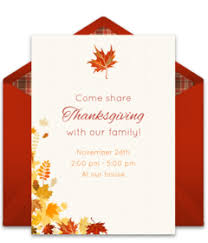 free thanksgiving invitations punchbowl