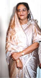 bangladeshi sharee bangladesh election candidate sheikh hasina in a saree or sharee