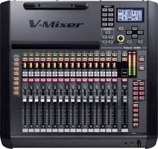roland pro a v m 200i 32 channel live digital mixing console