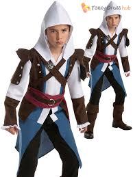 Assassins Creed Kid Halloween Costume Boys Assassins Creed Teen Fancy Dress Costume Official Video Game