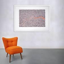 map of greater london neon orange bark ursula hitz gl neon orange with chair jpg