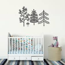 Wall Decor Stickers For Nursery Nursery Wall Decor Stickers Set Tree Vinyl Wall Decals
