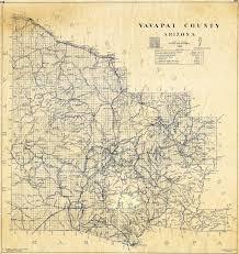 Arizona County Map Map 238 Yavapai County Arizona