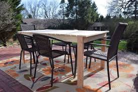 Diy Patio Table Diy Patio Table Hometalk