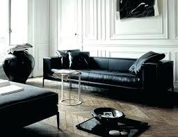 salon canapé cuir canape cuir noir design canapac design 32 bregga salon cuir noir