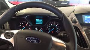 how to reset oil change reminder on 2014 ford youtube