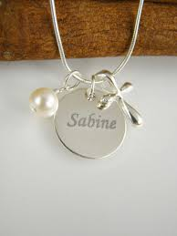baptism engraved gifts engraved girl baptism gift cross necklace name and date necklace