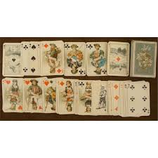 wwii german deck of cards in box
